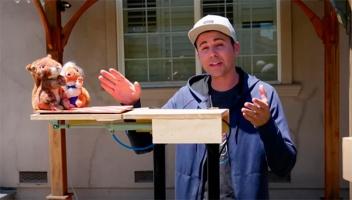 Видео дня: полоса препятствий для белок, построенная бывшим инженером NASA