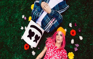 "Marshmello и Холзи представили совместный клип ""Be Kind"""