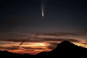 Космический фейерверк: над Камчаткой взорвался метеорит